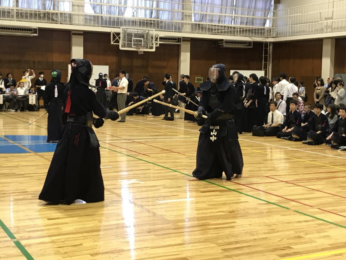 剣道部 全国高等学校剣道大会支部予選 結果