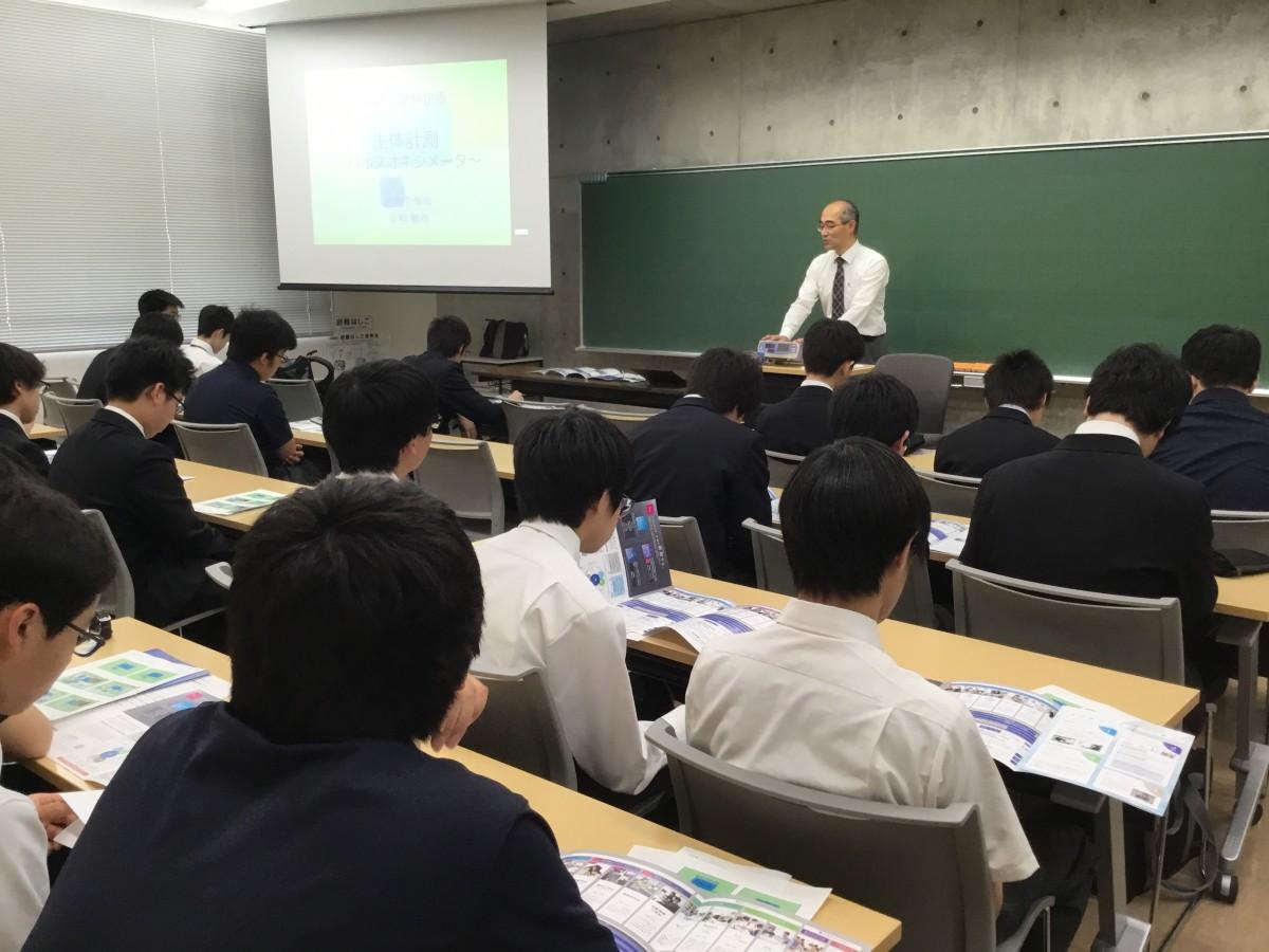 サイエンスコースの1年生が東京都市大学を訪問しました。