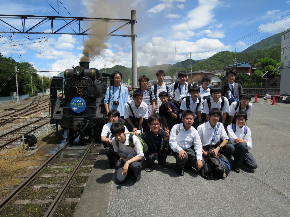 鉄道研究部校外活動を行いました。